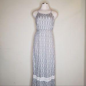 Morona Boho maxi dress with crochet